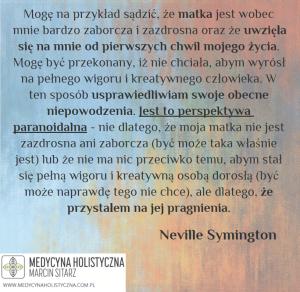"""Narcyzm nowa teoria"" Neville Symington"
