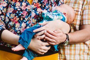 budowanie więzi z niemowlęciem
