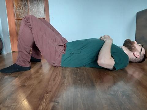 Mostek ćwiczenie 1 pozycja wyjściowa
